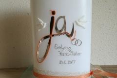Hochzeitskerze 6