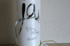 Hochzeitskerze 7