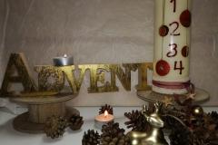 Weihnachtskerze 12