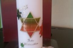Weihnachtskerze 2