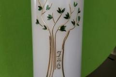 Geburtskerze Lebensbaum Familie