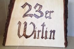 Holzschild 7