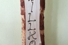 Holzschild 6